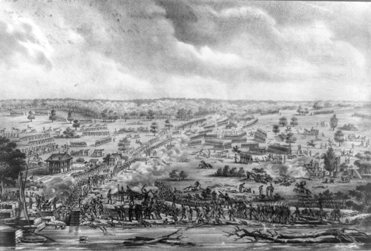 account of the battle of new orleans The battle of new orleans was fought  andré jackson en louisiane en 1814 et 1815, new orleans 1848, is the best account we have of the preparations made to meet.