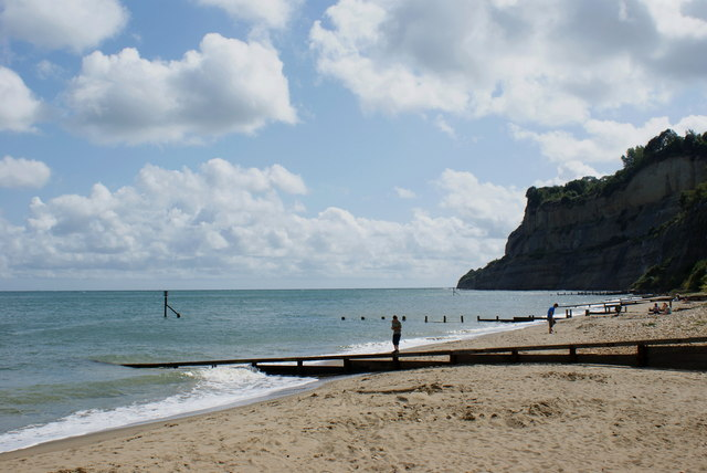 Beach Near Appley Steps, Shanklin - geograph.org.uk - 1459054