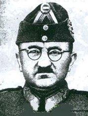Károly Beregfy Hungarian fascist Arrow Cross Defence Minister under Ferenc Szálasi