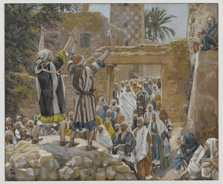 Jesus curses the Fig Tree James Tissot Images of Holy
