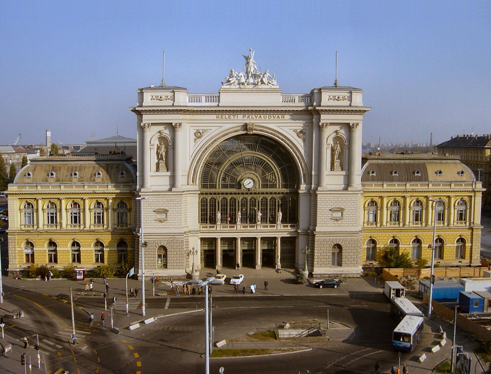 Descripción budapest east station 1