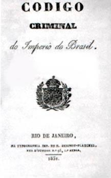 Veja o que saiu no Migalhas sobre Código Criminal de 1830