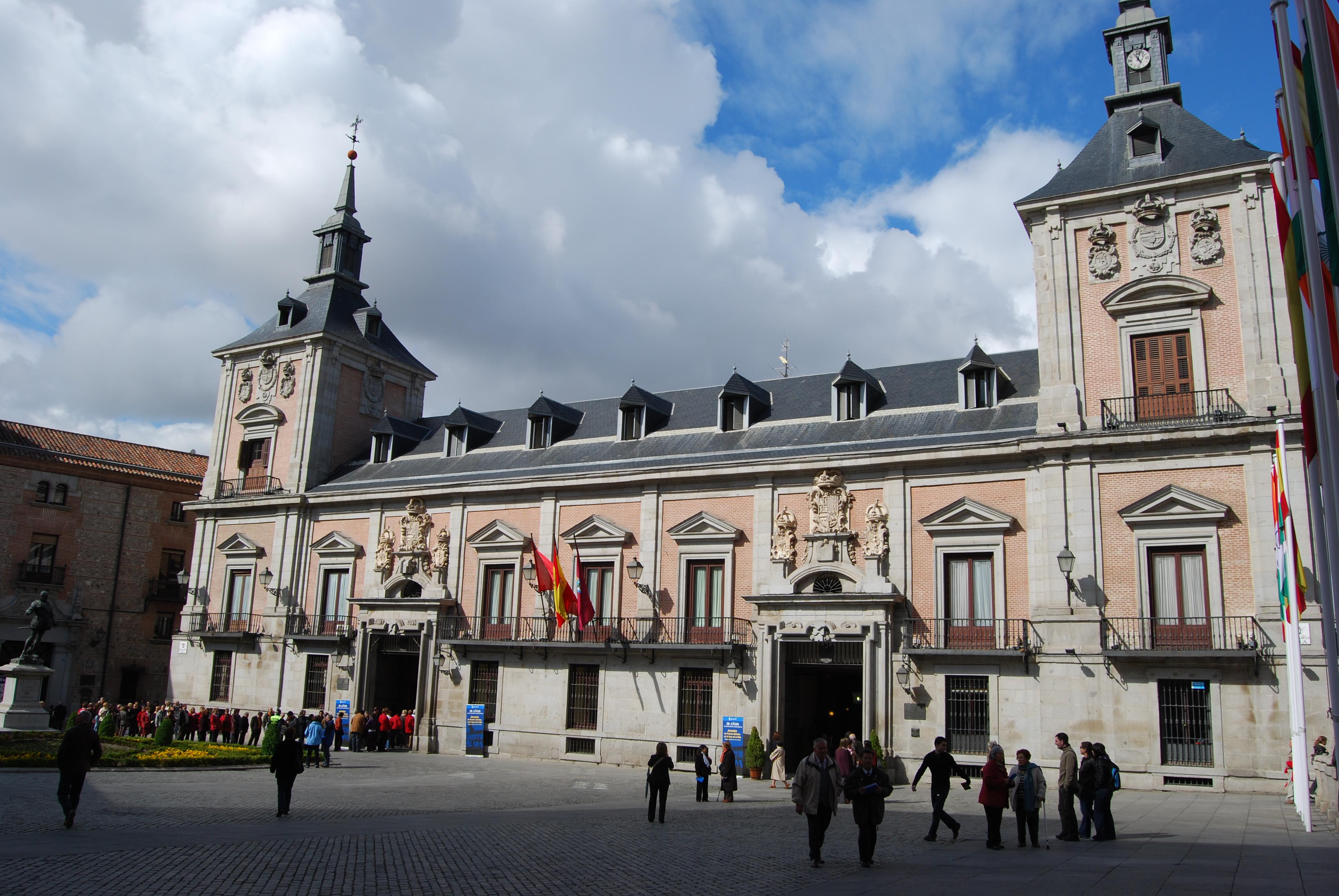 File Casa De La Villa Antiguo Ayuntamiento De Madrid Jpg