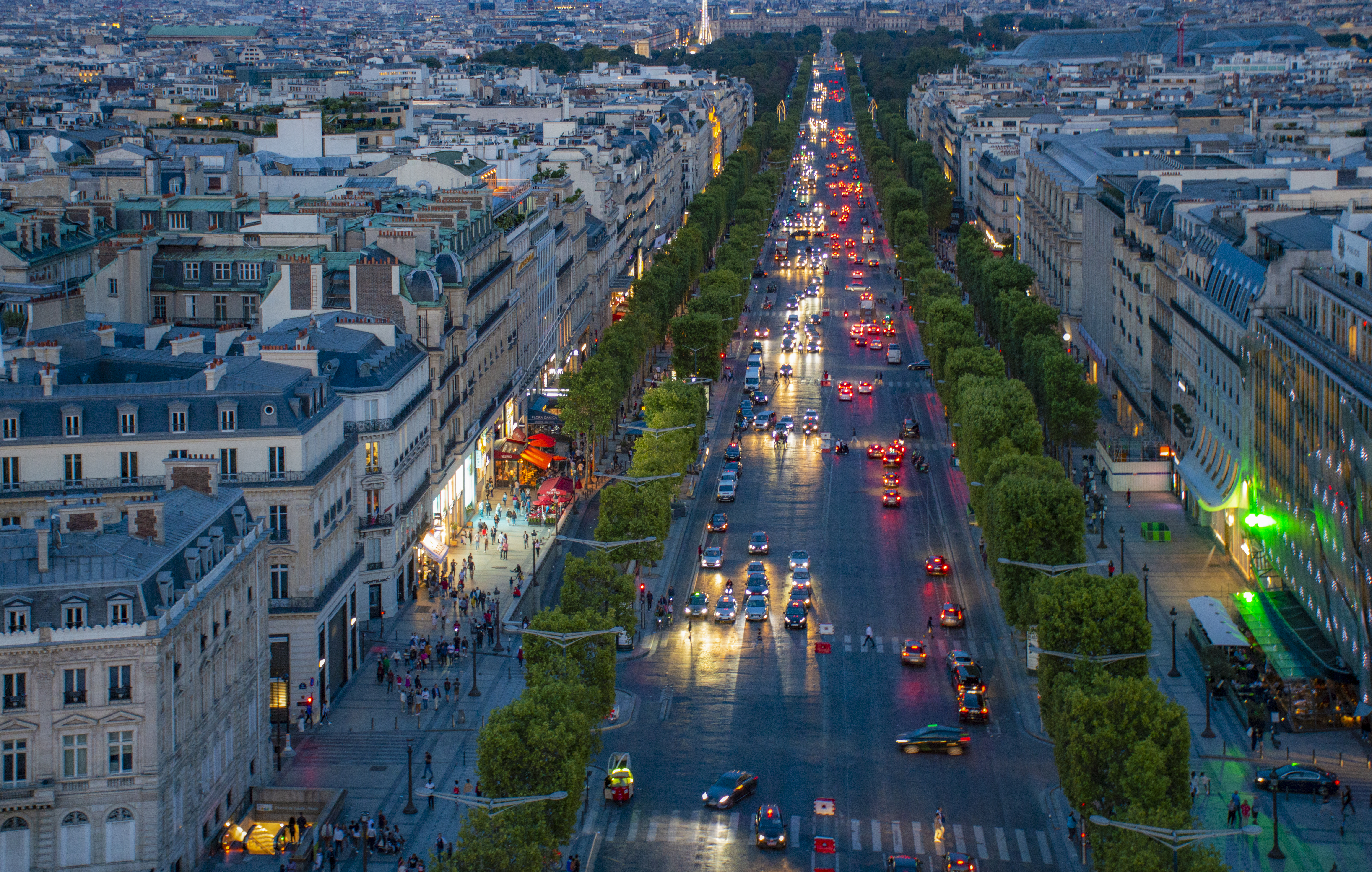 Champs Elysees from the Arch.jpg