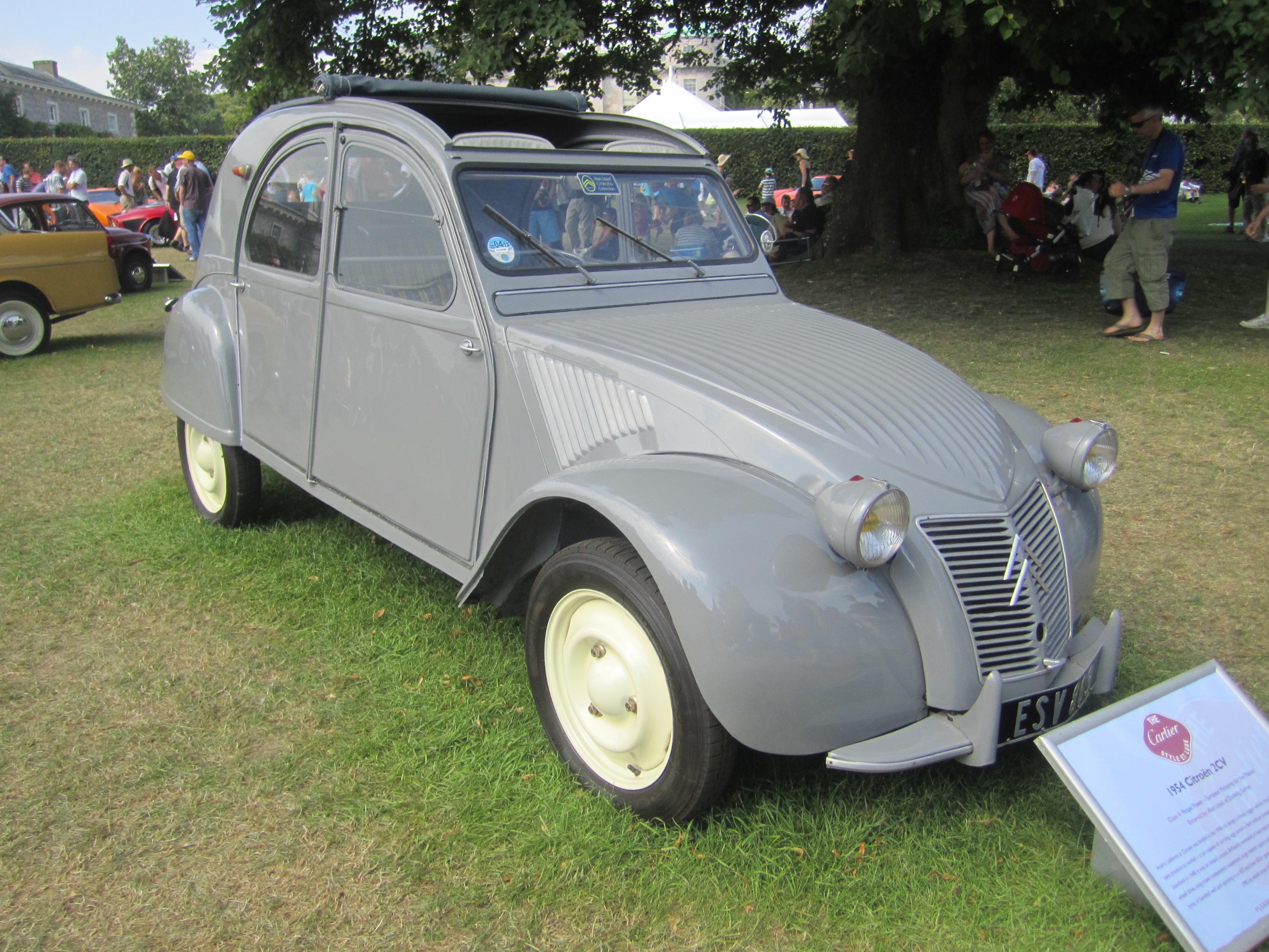 citroen 2cv type a 1954