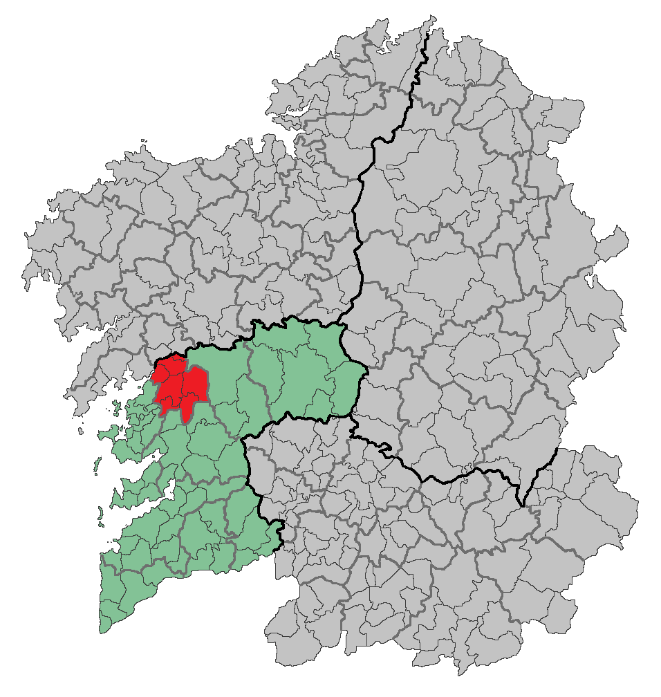 Caldas De Reis Mapa.Kaldas Komarka Vikipediya