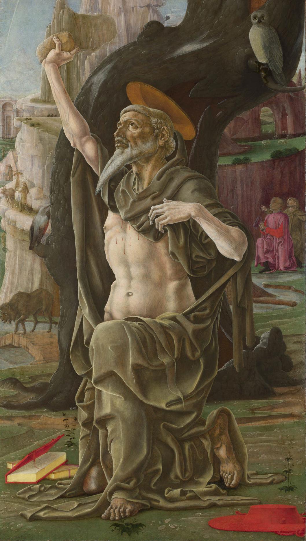San Girolamo penitente (Cosmè Tura) - Wikipedia