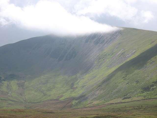 Cwm Hafod and the Northern Slopes of Moel Eilio - geograph.org.uk - 287584
