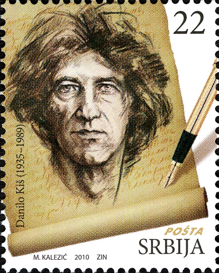 Danilo Kis Serbian Literature Great Men Stamps
