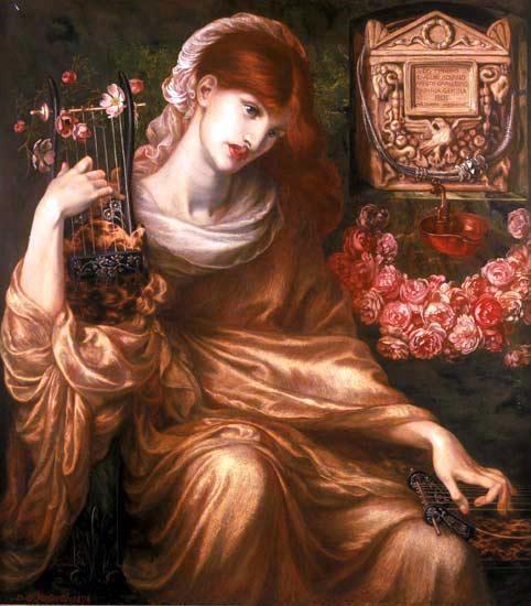 Archivo:Dante Gabriel Rossetti - 'Roman Widow' ('Ds Manibus').JPG