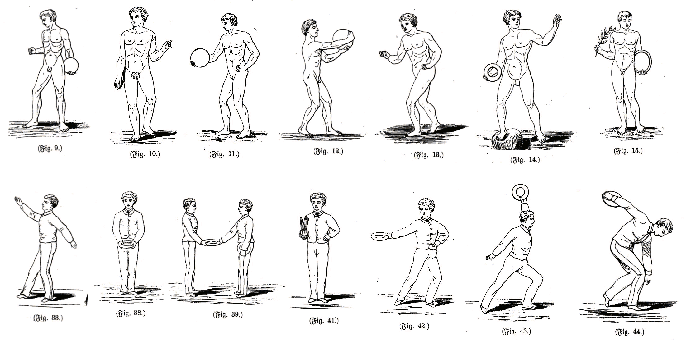 Disziplinen Olympische Spiele