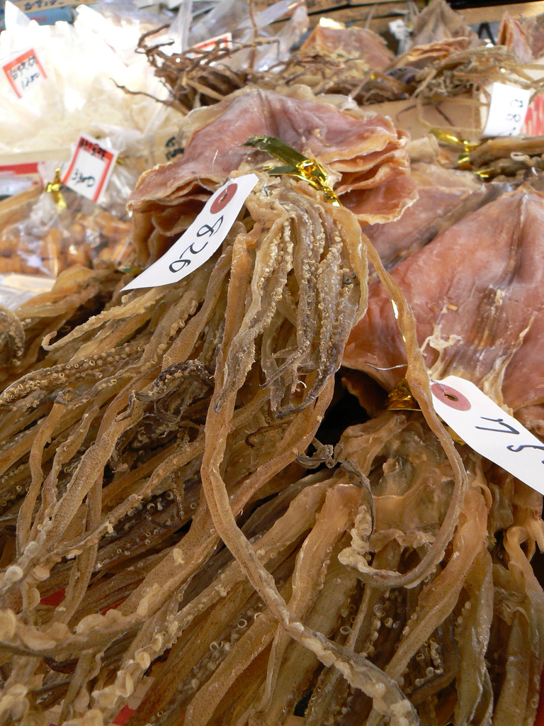 how to prepare dried squid