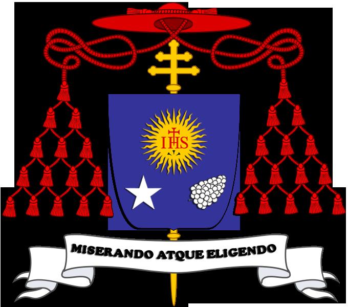 [Imagem: Escudo_de_Armas_del_Cardenal_Jorge_Mario_Bergoglio.png]