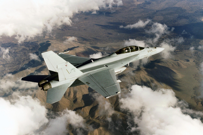 FA-18 Super Hornet VX-9 with AESA radar.jpg
