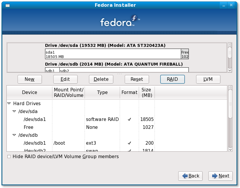 File Fedora 11 Installation On Raid 5 Array Screenshot17