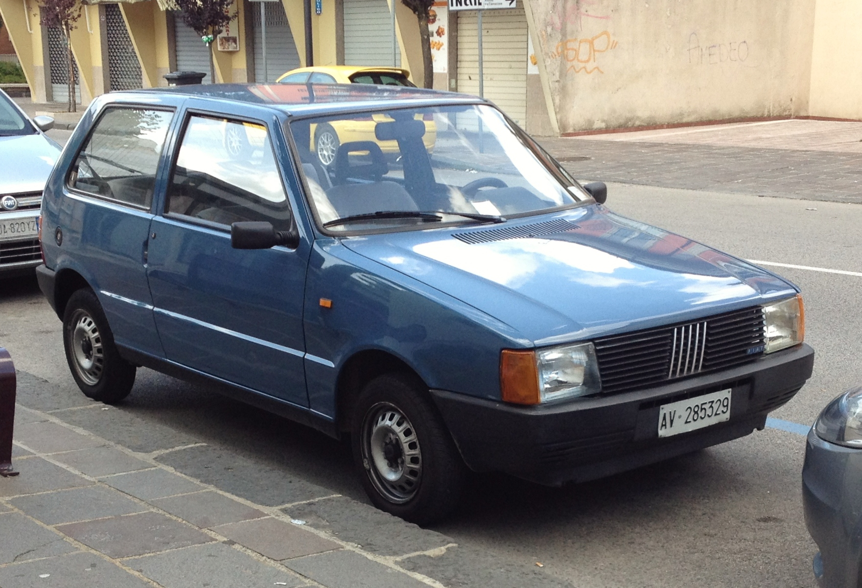 File Fiat Uno 45 Blue Jpg Wikimedia Commons
