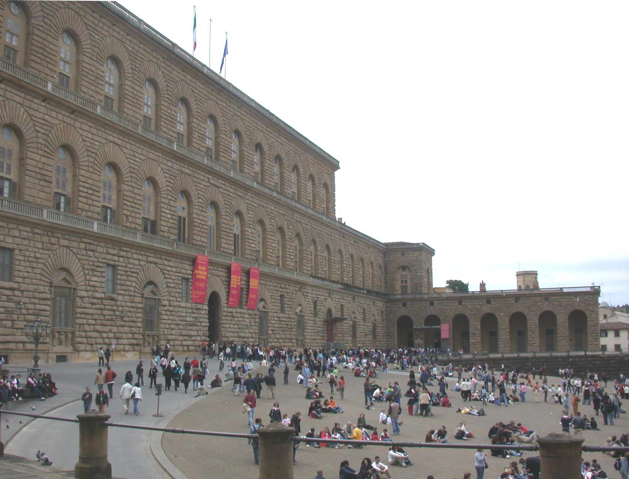 Architektura renesansu we w oszech wikiwand for Palazzo pitti