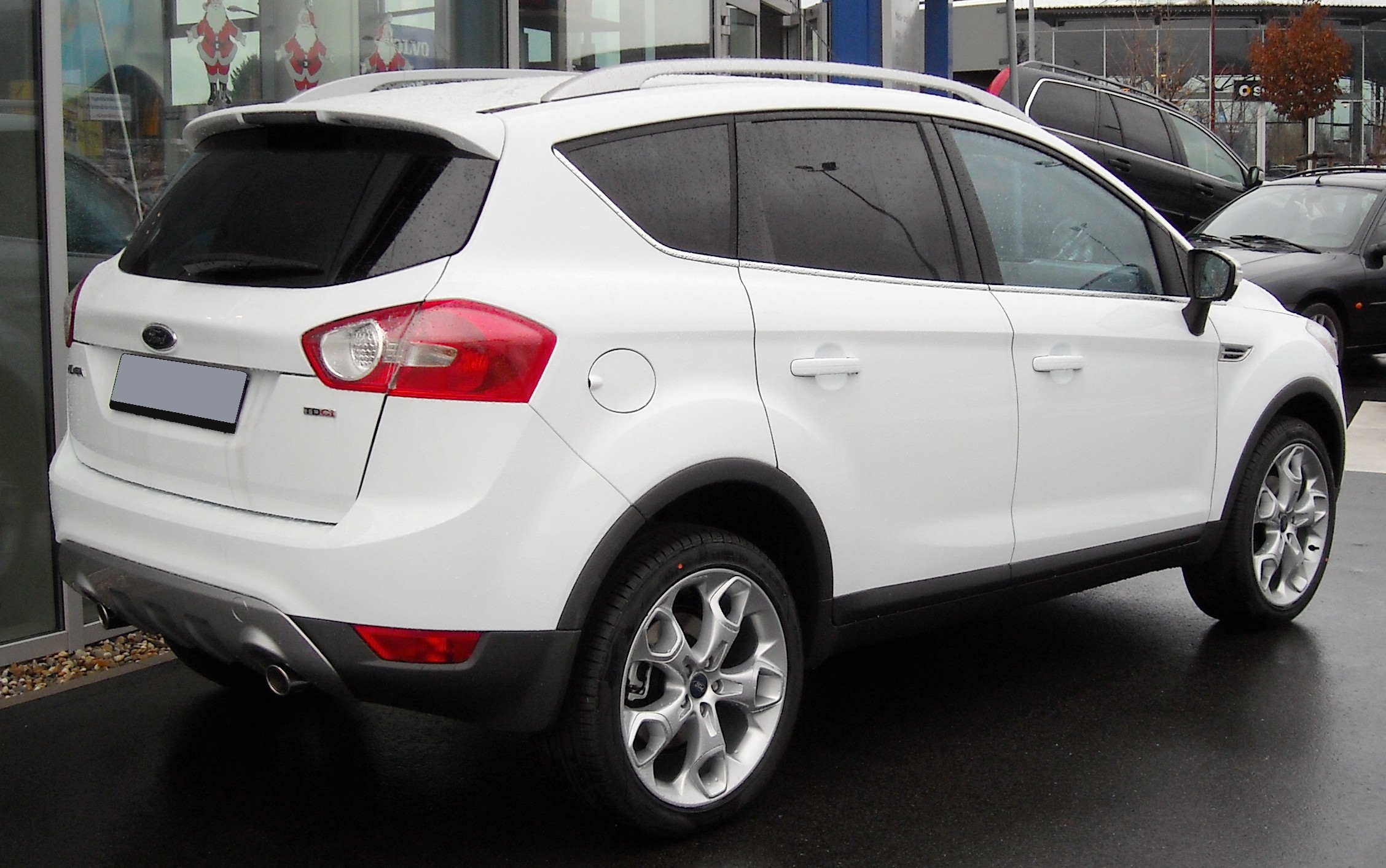 File Ford Kuga Rear 20081206 Jpg Wikimedia Commons