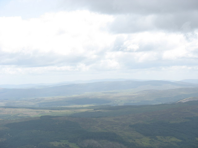 Forestland east of Moel Siabod - geograph.org.uk - 218501