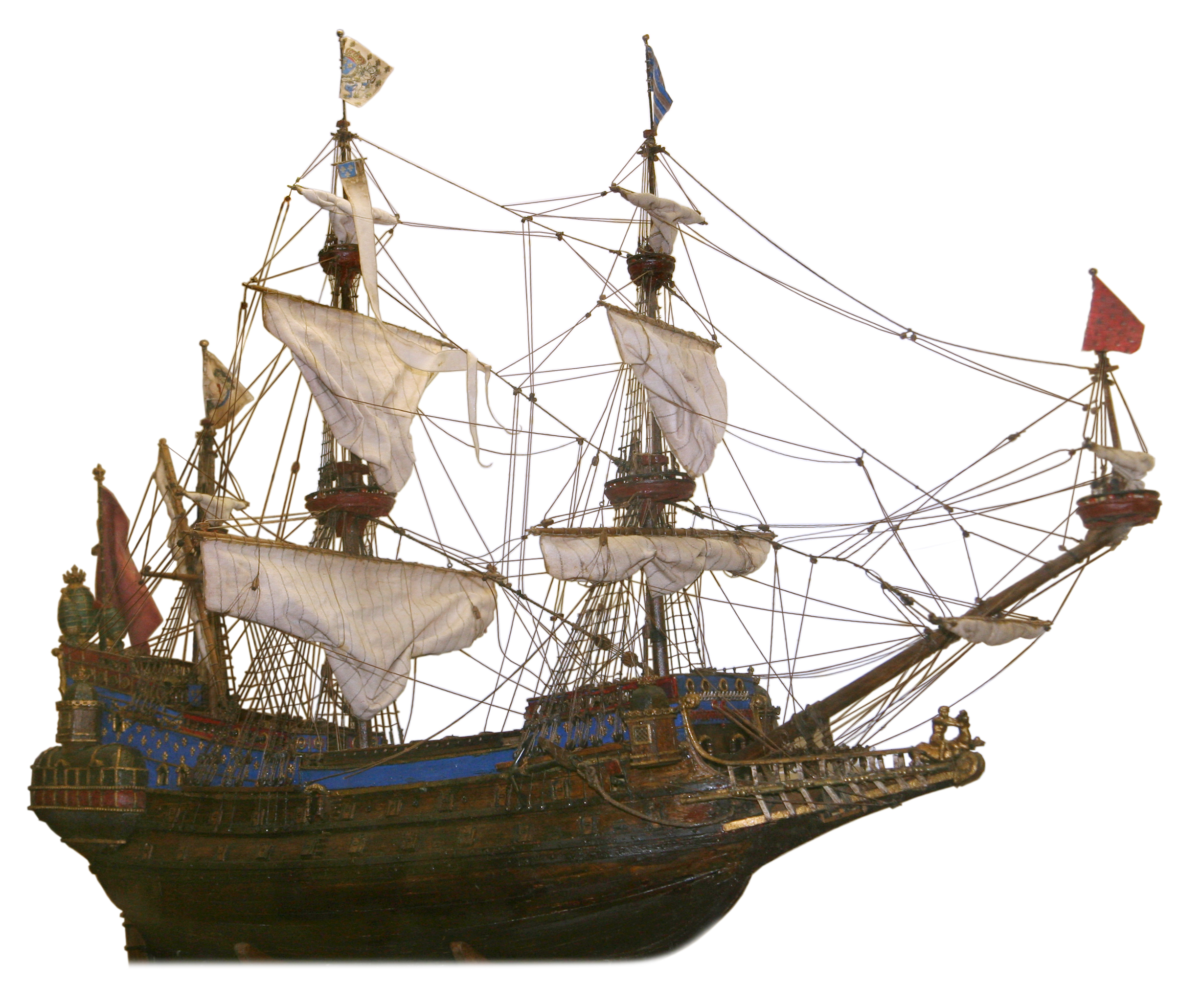 File:French galleon model.jpg - Wikimedia Commons