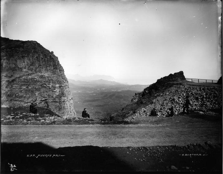 Filegap Nuuanu Pali Photograph By Brother Bertramjpg Wikimedia