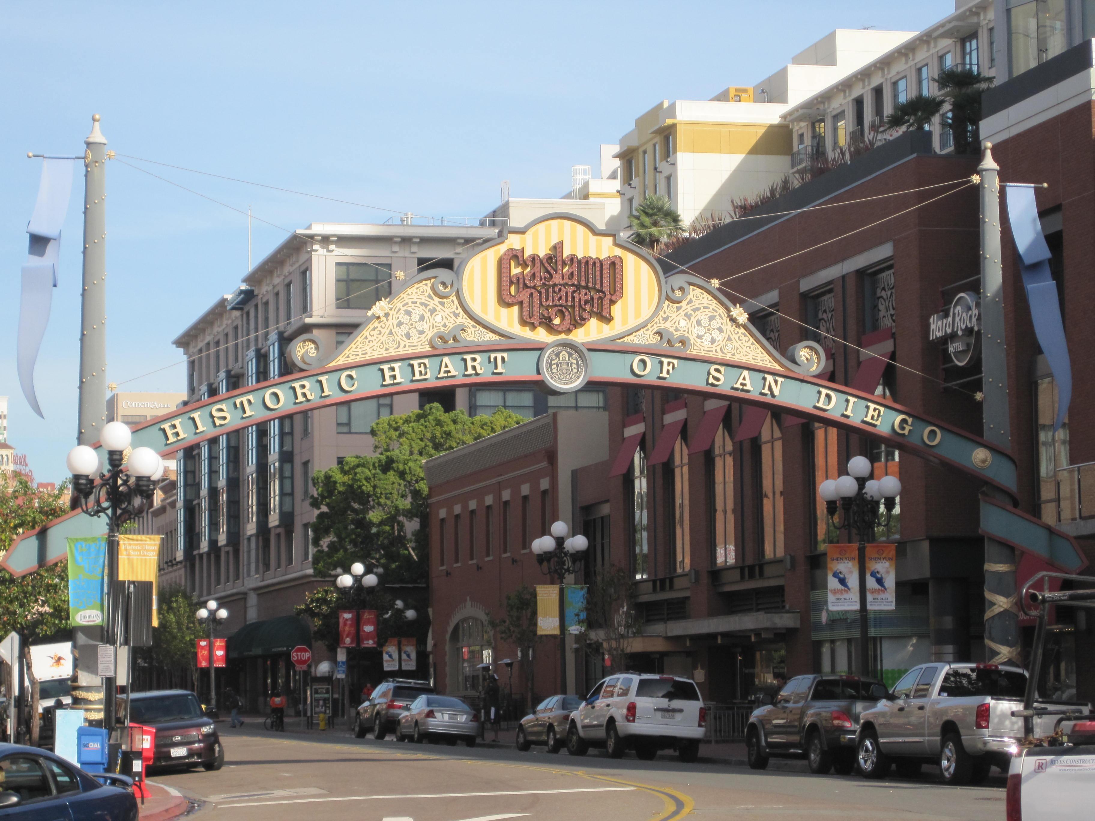 Exploring San Diego: Gina Champion-Cain: Restoring ...