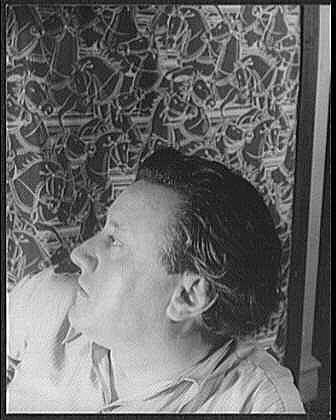Gaston Lachaise photographed by [[Carl Van Vechten]], 1934