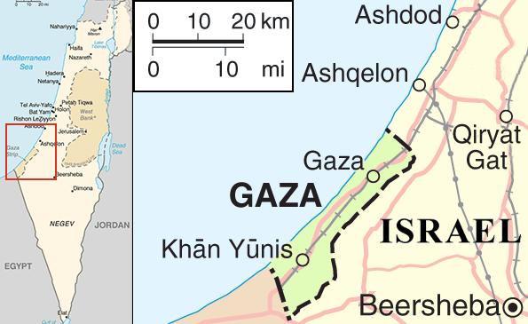 Gaza–Israel conflict - Wikipedia