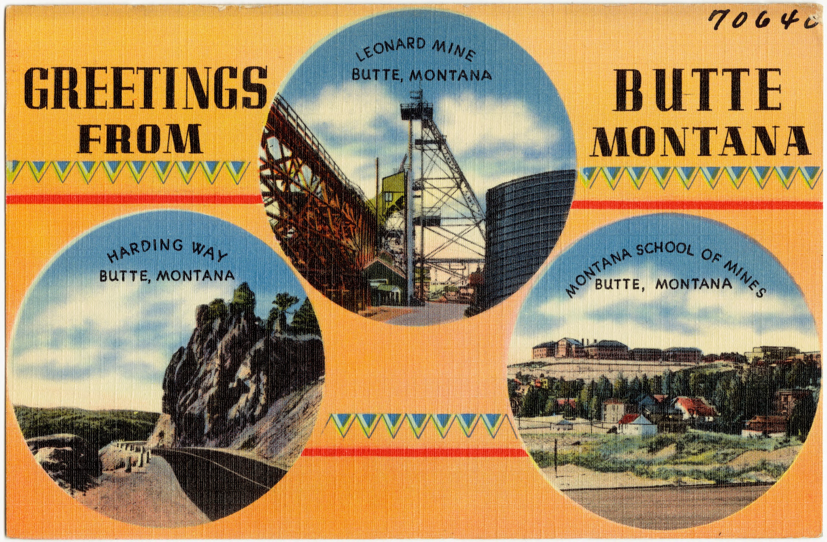 Filegreetings From Butte Montana 70640g Wikimedia Commons