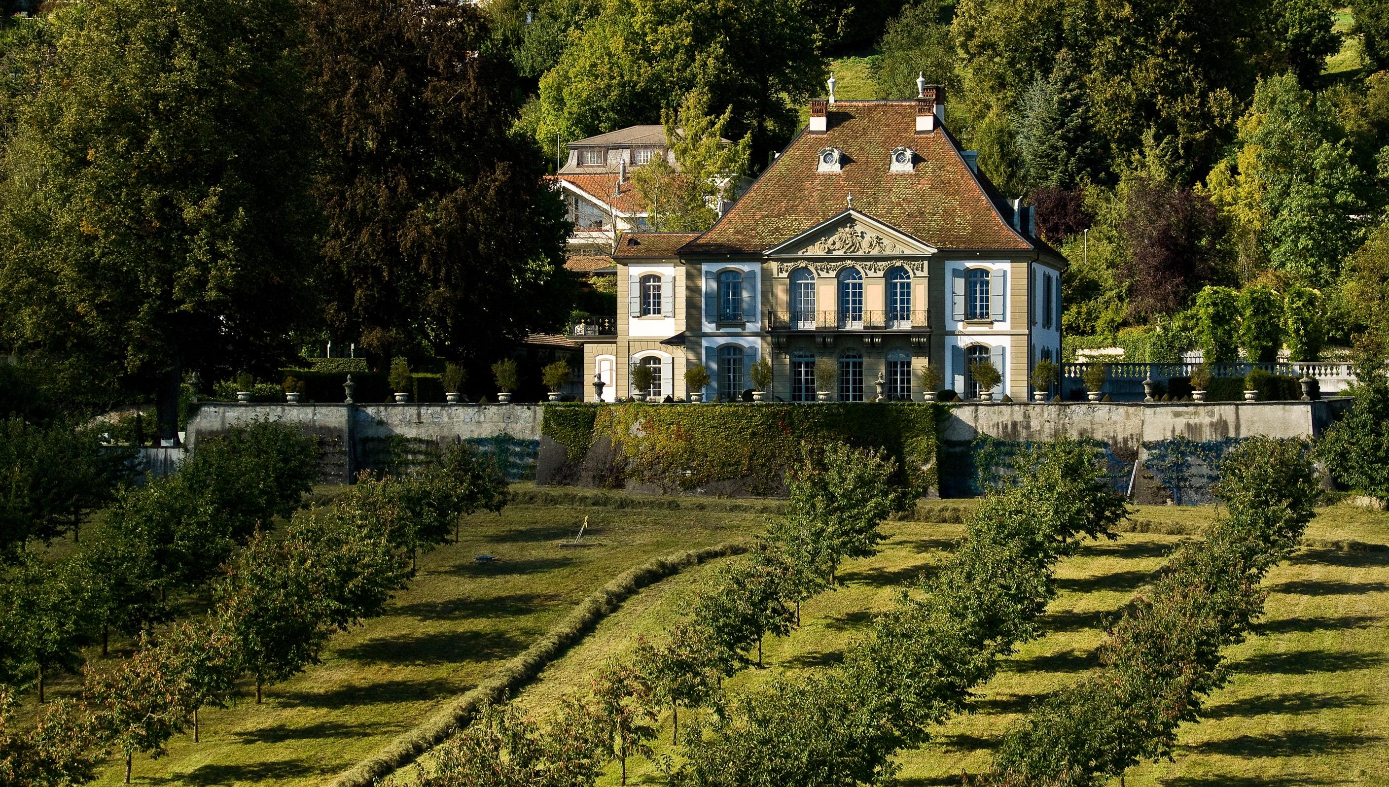 Schloss g mligen wikiwand for Baum garten