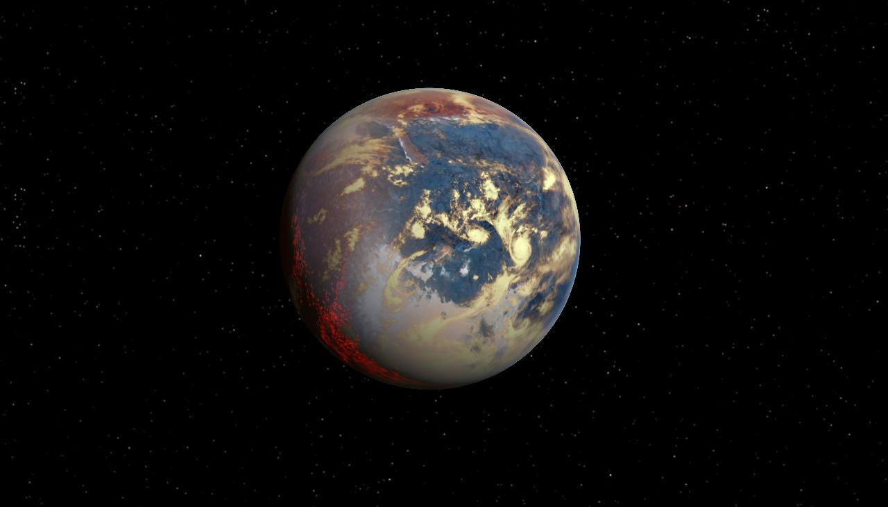 super-earth planet -#main