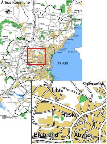 File Hasle Placering Relativ Til Aarhus Jpeg Wikipedia