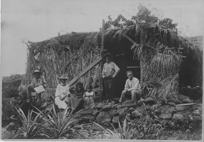 File Hawaiian Family At Grass House Pp 32 2 018 Jpg