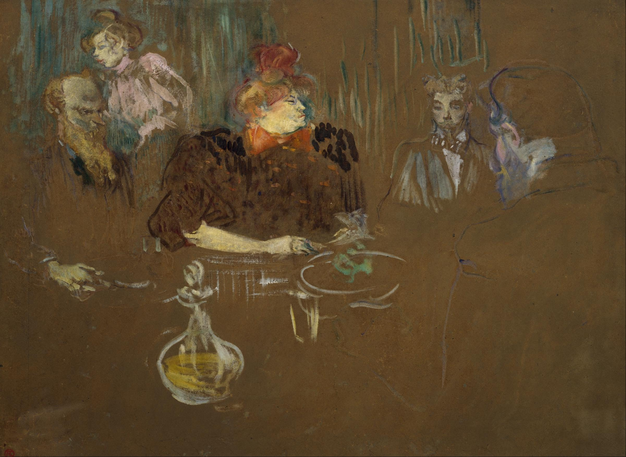 Henri de toulouse lautrec for Art de la table toulouse