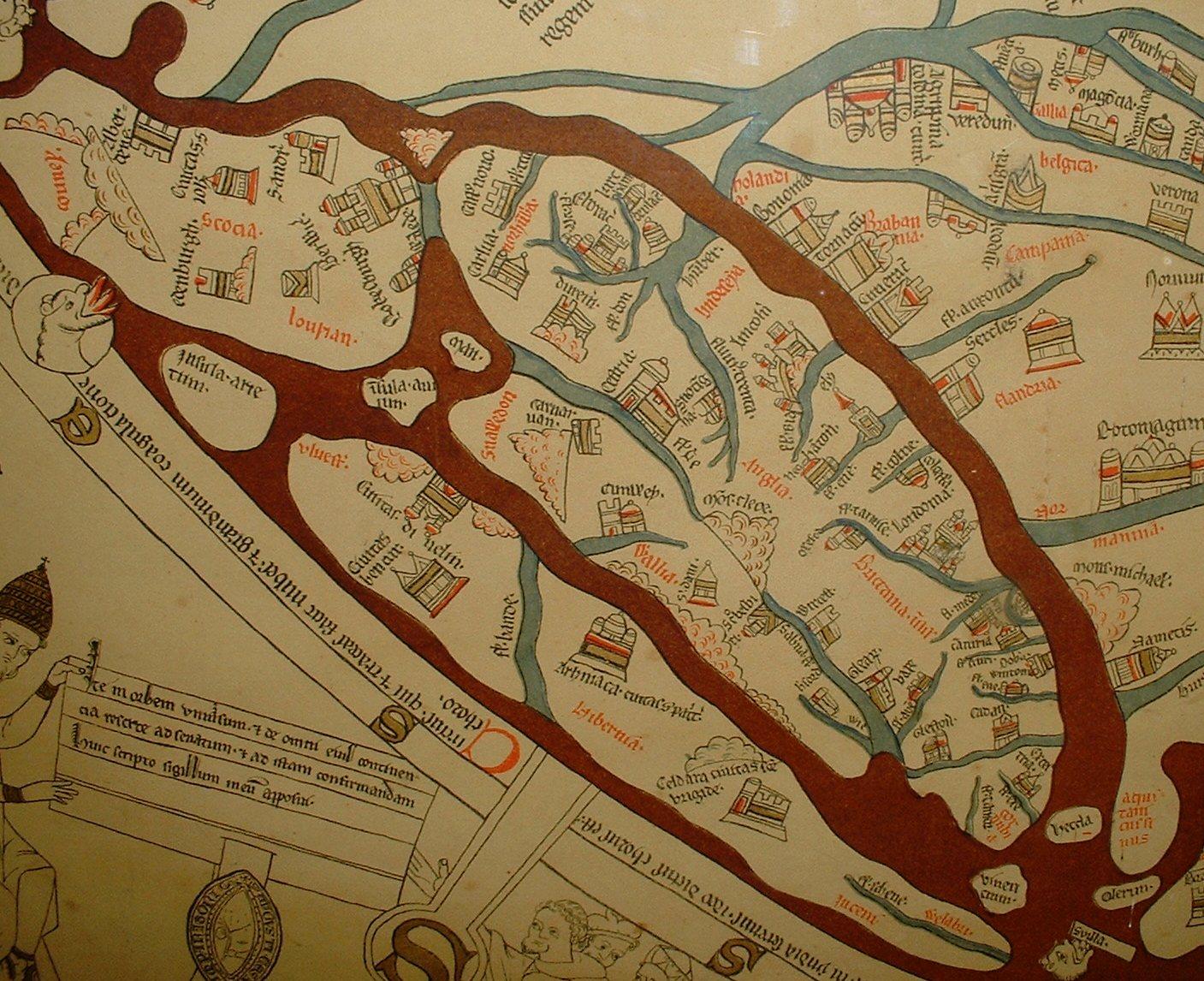 FileHereford Mappa Mundi Detail Britainjpg Wikimedia Commons - Map pa