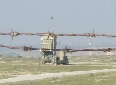 Iron Dome battery near Beersheba