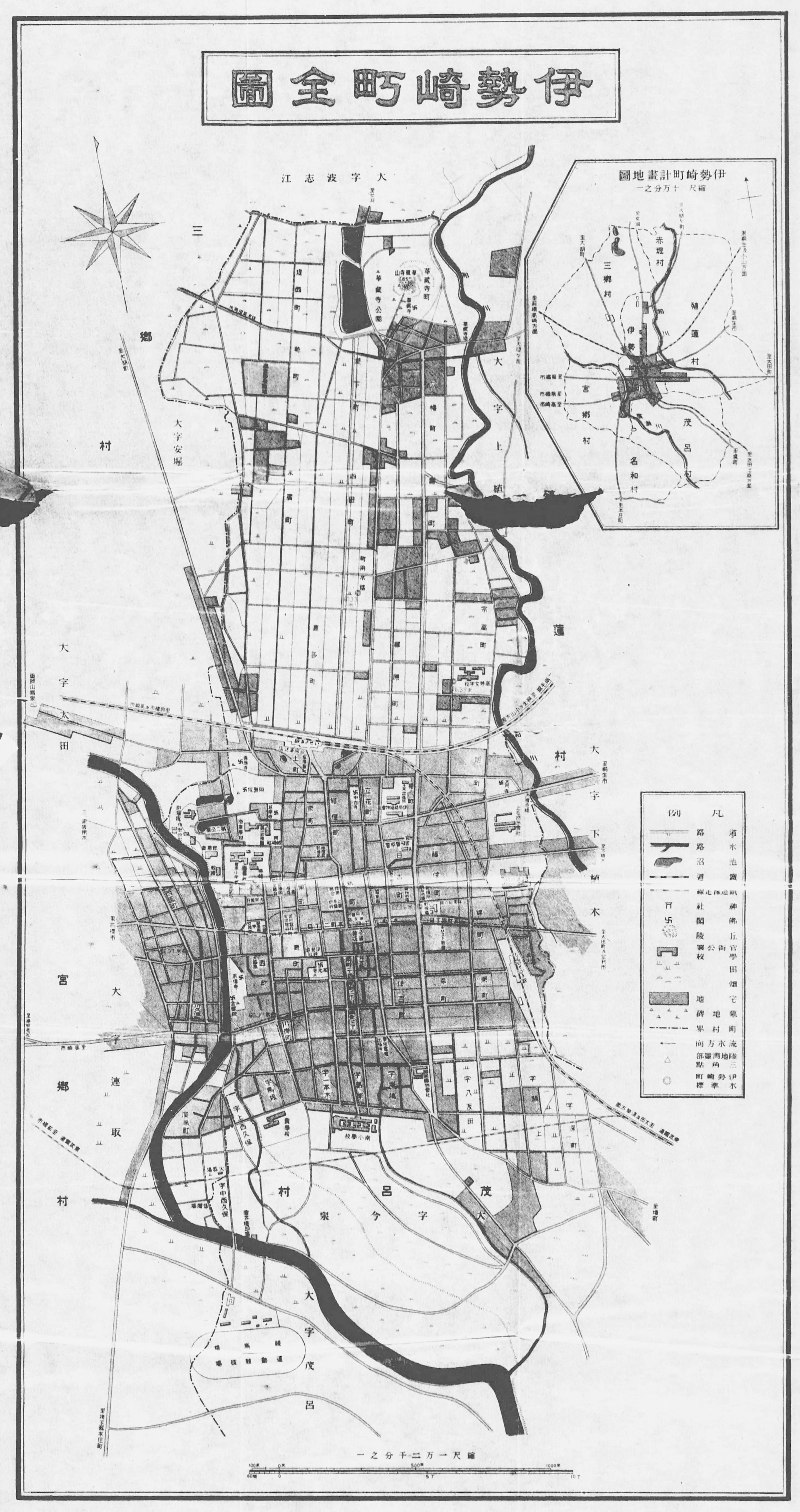 FileIsesaki Town Mapjpg Wikimedia Commons - Isesaki map