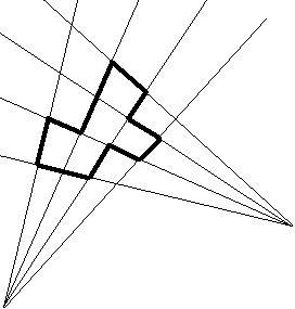 Isothetic polygon