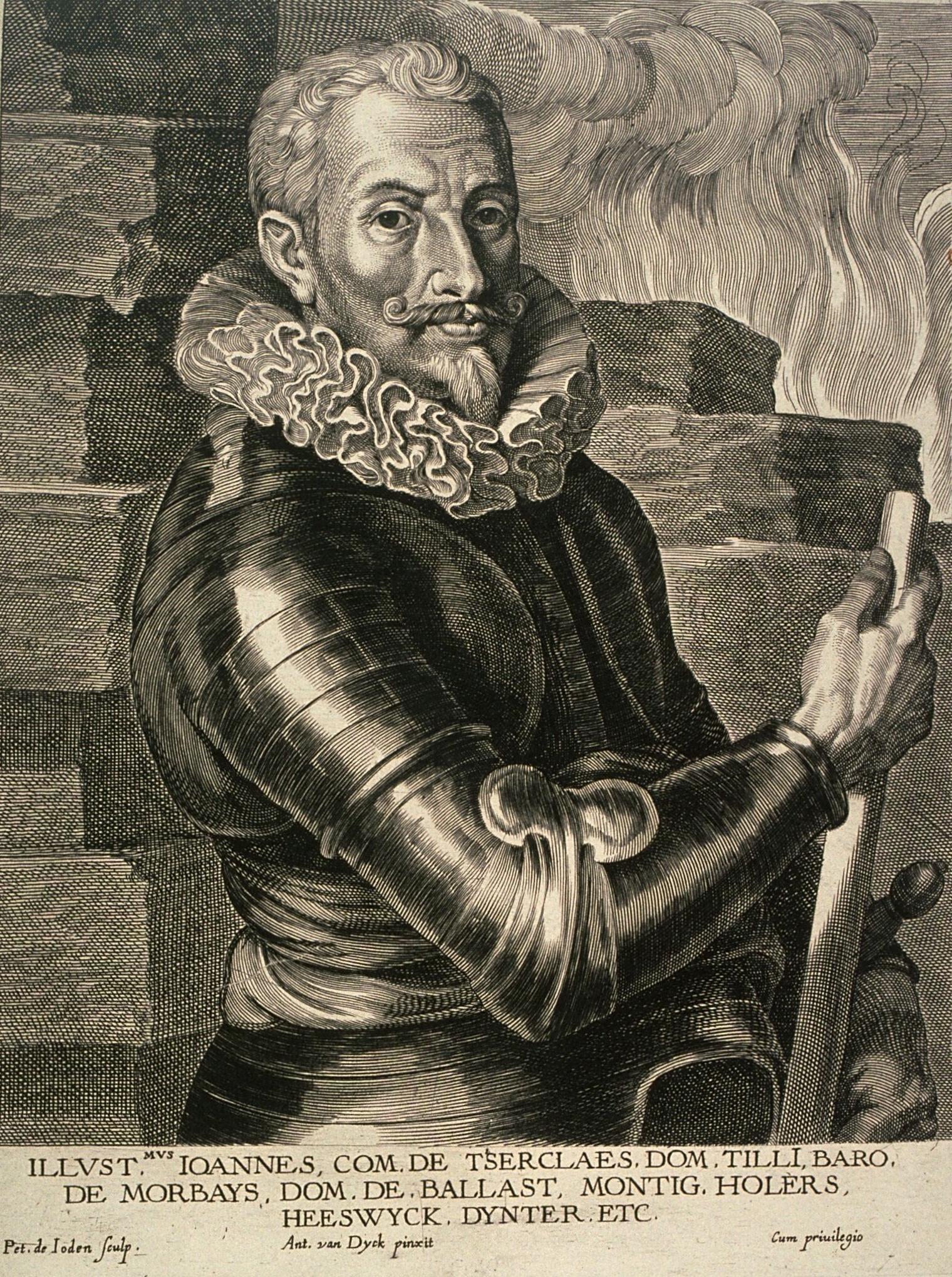 El Conde de Tilly, por Van Dyck.