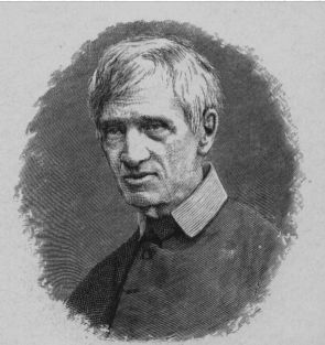 John Henry Newman and the Oratorian collar John Henry Newman - Project Gutenberg 13103.jpg