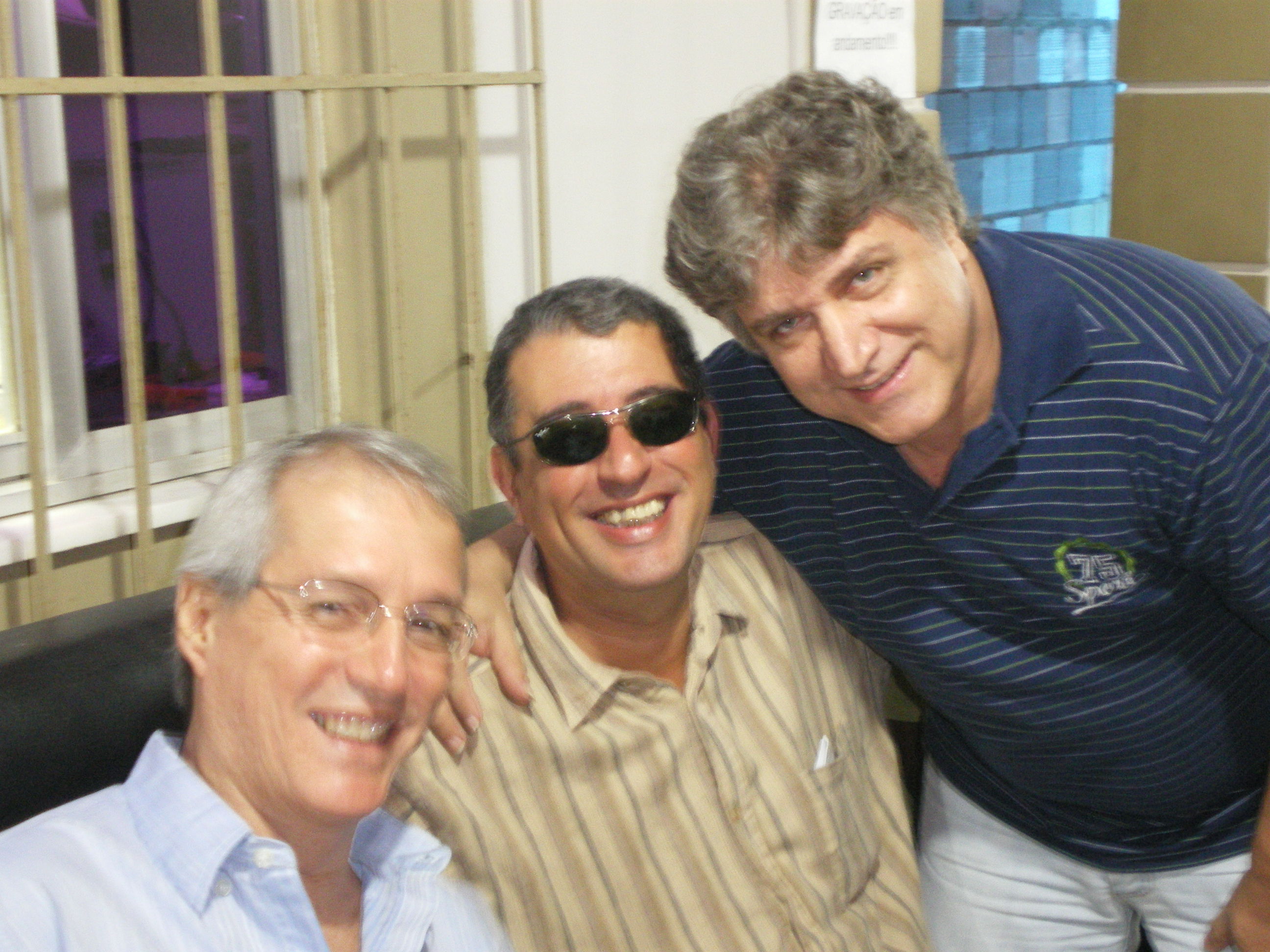 Alceu Maia, Didu Nogueira e Jorge Simas.