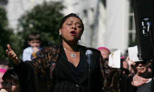 Battle singing the Lord's Prayer in honor of the Pope Kathleen battle.PNG