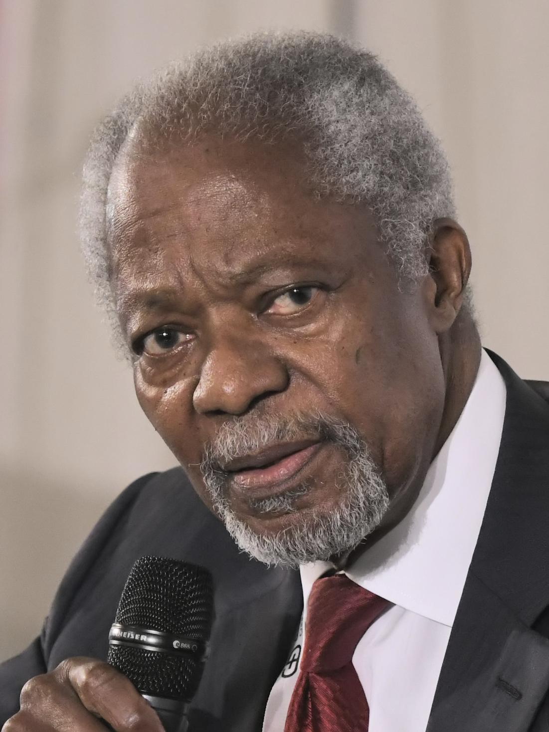 Poet Kofi Annan