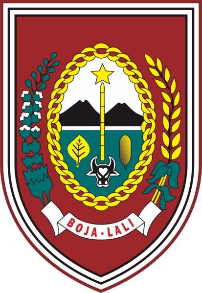 English: Coat of Arms (Lambang) of Regency (Ka...