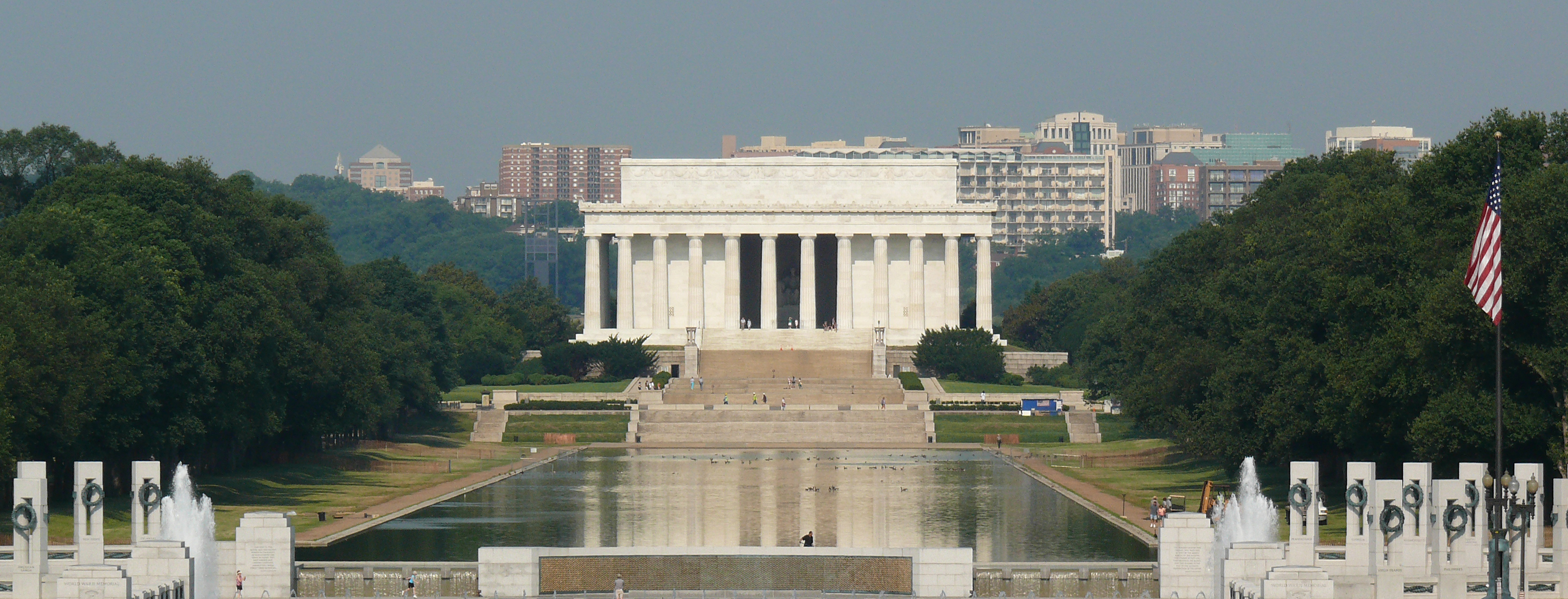 File lincoln reflecting - Reflecting pool ...