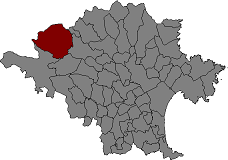 Location of Maçanet de Cabrenys