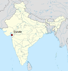 Location map of Surat India.jpg