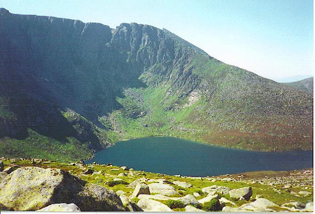 Lochnagar - Mountain and Corrie Lochan. - geograph.org.uk - 113301