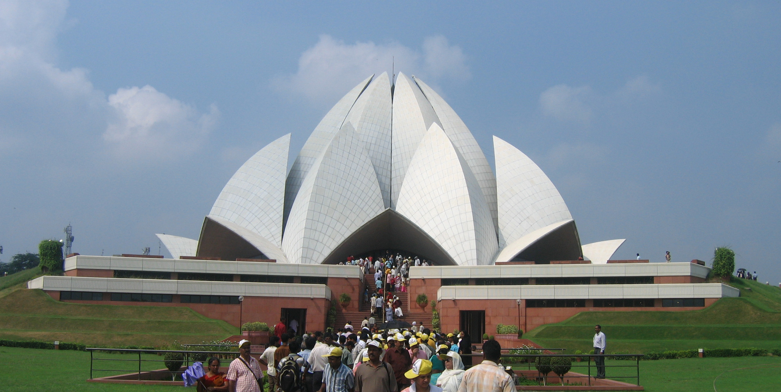 File Lotus Temple Delhi Various Views 10 Jpg