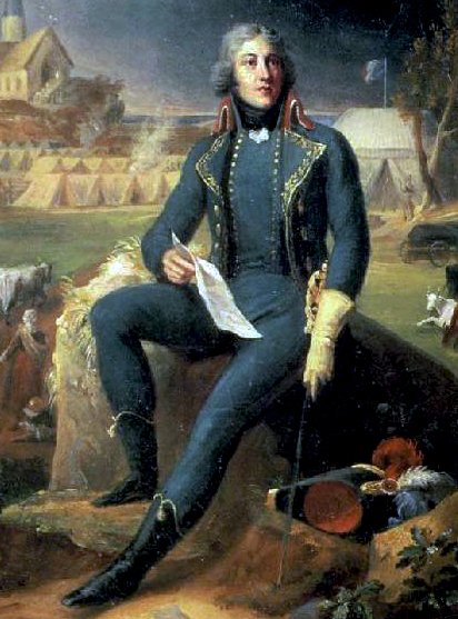 General Lazare Hoche defeated a royalist army that landed in Brittany (July 1795) Louis Lazare Hoche1.jpg